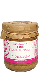 "Pot de moutarde à l'ancienne ""La diablotine"""